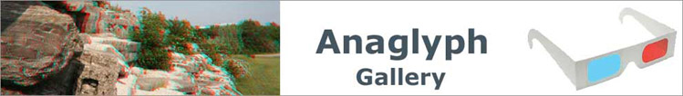 Kop 3D-gallery met Anaglyphs